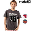 メンズ 半袖 Tシャツ roial ロイアル LTD204 ムラサキスポーツ限定 FF2 E7