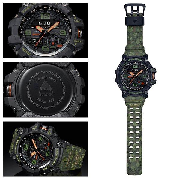 時計 G-SHOCK ジーショック × BURTON バートン GG-1000BTN FF E16