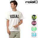 メンズ 半袖 Tシャツ roial ロイアル R802MLTD02 ムラサキスポーツ限定 FF2 D30