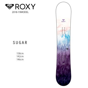 スノーボード 板 ROXY ロキシー SUGAR シュガー 18-19モデルレディース FF G18
