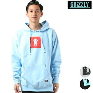 GRIZZLY グリズリー SCRAWL HOODED SWEAT メンズ パーカー VIGR18FMHD GRIZZLY ムラサキスポーツ限定 FF3 J26