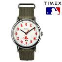 時計 TIMEX タイメックス × MLB TRIBUTE COLLECTION トリビュート・コレクション TW2T55400 Boston Red Sox 日本限定 FF J17