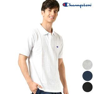 Champion チャンピオン メンズ 半袖 ポロシャツ C3-F356 ベーシック チャンピオン トップス シンプル GG1 C19