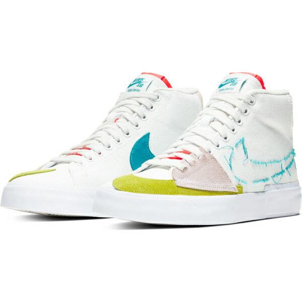 メンズ靴, スニーカー NIKE SB ZOOM BLAZER MID EDGE CI3833-101 SUMMIT WHITEORACLE AQUA-SUMMIT WHITE HH2 C23