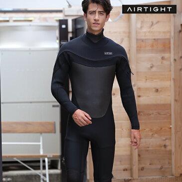 AIRTIGHT エアータイト LCZ EDGE 5mm×3mm メンズ ウェットスーツ セミドライ ムラサキスポーツ限定 HH I26