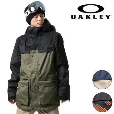 送料無料 スノーボード ウェア ジャケット OAKLEY オークリー TIMBER 15K BZS JACKET 412234 17-18モデル メンズ F1 I27