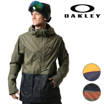 送料無料 スノーボード ウェア ジャケット OAKLEY オークリー HIGHLINE 10K BZS 412240 17-18モデル メンズ F1 I27