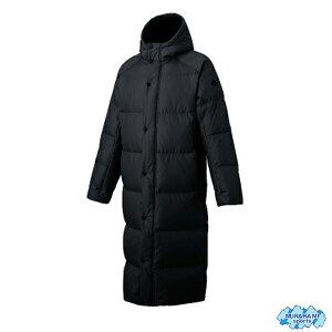 デサント DMMOJC43-BK スーパーロングダウンコート [DESCENTE・トレーニングウェア・ベンチコート・カラー(ブラック)防寒用品・メンズ・セール品 ロングダウンコート]