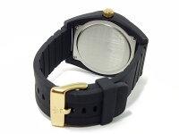 アディダス腕時計メンズADH2712ADIDASサンティアゴクオーツブラック/ゴールド送料き手数料無料