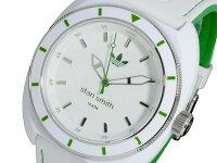 アディダス腕時計レディースADH3120ADIDASスタンスミスクオーツホワイト/グリーン送料き手数料無料smtb-ms