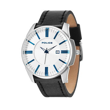 POLICEポリス時計 14384JS-04 GOVERNORガバナー ホワイト/ブルー 腕時計 メンズ レディース 有名人 愛用 代引き 手数料無料 ギフト プレゼント クリスマス 誕生日 記念日 贈り物 人気 おしゃれ ペア 祝い セール 結婚式 お呼ばれ