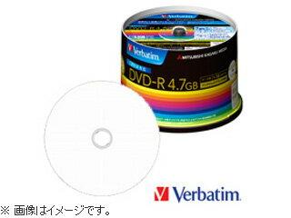 三菱化学メディア DHR47JDP50V3 4.7GBデータ用16×DVD-R (50枚パック)