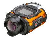【お得なセットもあります!】 RICOH/リコー RICOH WG-M1(オレンジ) アクションカメラ【wgm1set】