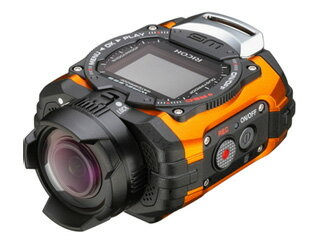 RICOHWG-M1(オレンジ)アクションカメラ【wgm1set】