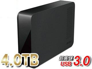バッファロー USB3.0対応外付けHDD 4TB HD-NRLC4.0-B