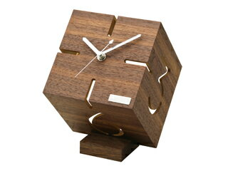 置き時計・掛け時計, 置き時計 yamato YK09-106 () (131313cm) woodmon