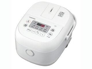 東芝 RC-10FM(W) ホワイト 鍛造かまど銅釜 [IH炊飯器(5.5合炊き)