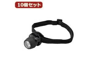 YAZAWA YAZAWA 3LEDミニヘッドライトブラック  LZ40BKX10