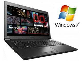 Lenovo/レノボ 【あす楽対応商品】【台数限定大特価】Windows 7搭載15.6型ノートPC Lenovo B590 59396367 ブラック