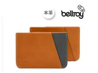Bellroy/ベルロイ マイクロスリーブ【キャラメル】■紙幣の出し入れも簡単なMicro Sleeve ※天然のレザーを使用しておりますので、多少のシワなどがある場合がございます。予めご了承ください。 スーパースリム カードケース 小型 コンパクト ギフト プレゼント