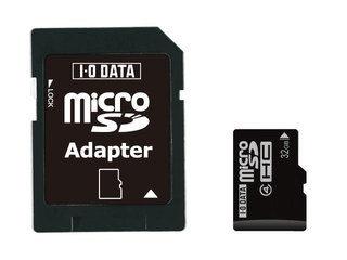 I・O DATA/アイ・オー・データ microSDHC/マイクロSDHCカード 8GB Class4/クラス4 ※SD変換アダプター付き SDMCH-W8G/A 【防水性能 JIS IPX7等級】