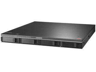 I・O DATA/アイ・オー・データ 長期保証&保守サポート対応19インチラックマウント型4ドライブ外付けハードディスク 4TB ZHD4-UTX4R