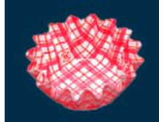 AZUMI/アヅミ産業 ココ・ケース(500枚入)丸型 5号深 赤