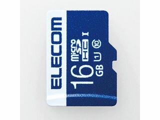 ELECOM/エレコム データ復旧microSDHCカード(UHS-I U1) 16GB MF-MS016GU11R