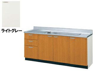 LIXIL/リクシル 【sunwave/サンウエーブ】GSE-S-180JXT GSシリーズ 大型一槽流し台 180cm (ライトグレー) 右開き:ムラウチ