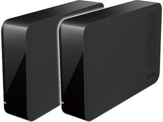 バッファロー USB3.0対応外付けハードディスク 4TB ドライブステーション HD-LC4.0U3/N お買い得2台セット:ムラウチ