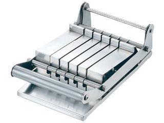 18−8 カツカッター 簡易ストッパー付 5枚刃(受け皿付)