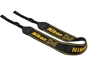 D4ロゴ入りストラップ。※D4標準付属品Nikon/ニコン AN-DC7 ストラップ