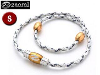 zaoral/ザオラル N12614 リカバリーネックレス 【Sサイズ:43cm】 (ホワイト/ゴールド) この不思議な力、体感せよ!