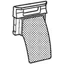 SHARP/シャープ 洗濯機用 糸くずフィルター [2103...