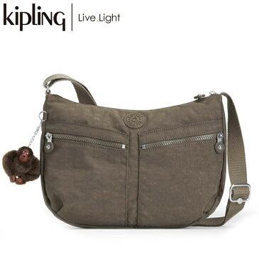【ラッピング無料】 KIPLING/キプリング IZELLAH/イゼラー 斜めがけショルダー バッグ (True Beige/トゥルーベージュ) 《正規代理店品》