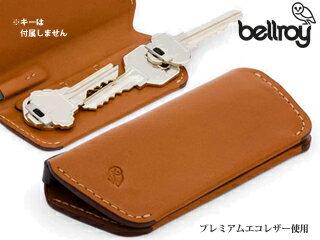 Bellroy/ベルロイ EKCB キーケース プラス 【Caramel】 ※天然のレザーを使用しておりますので、多少のシワなどがある場合がございます。予めご了承ください。 本革 鍵 キーケース プレゼント ギフト レザー 車のキー 革
