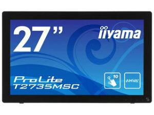 【送料無料】【smtb-u】iiyama/飯山 27型ワイド液晶ディスプレイ ProLite T2735MSC マーベルブ...