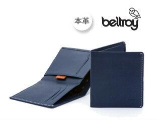 Bellroy/ベルロイ ノートスリーブウォレットBLS 【ブルー:Blue】Note Sleeve 財布 スリム 二つ折り 名刺 カード 小銭 お札