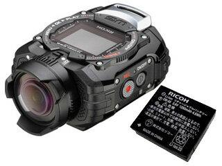 【純正スペア電池セット】RICOHWG-M1(ブラック)+DB-65純正バッテリーセット【wgm1set】