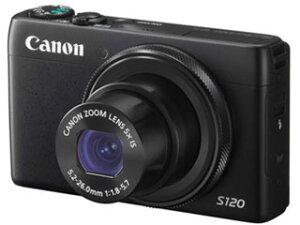 【送料無料】【smtb-u】CANON/キヤノン PowerShot S120(ブラック) コンパクトデジタルカメラ【...