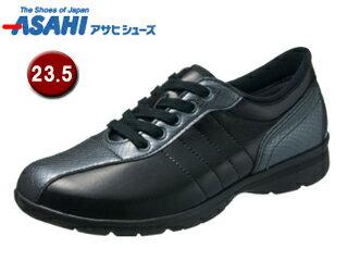KS23353-1快歩主義L120ACレディースカジュアルシューズ【23.5cm・3E】(ガンメタ)