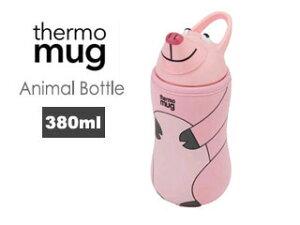 thermo mug/サーモマグ 5155AM アニマルボトル (ピンク)