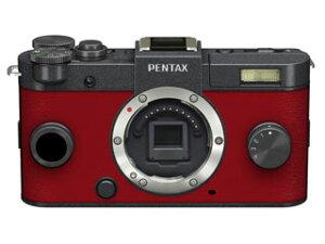 PENTAX Q-S1 ボディキット ガンメタル×カーマインレッド