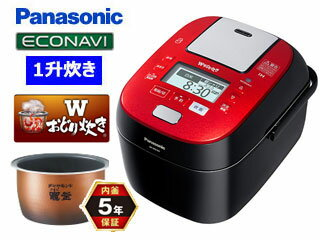 Panasonic/パナソニック SR-SPX187-RK スチーム&可変圧力IHジャー炊飯...