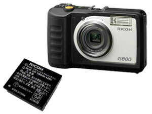 【送料無料】【smtb-u】【スペア電池set】 RICOH/リコー 【純正スペア電池セット】RICOH G800+...