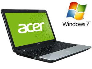 【送料無料】【smtb-u】Acer/エイサー 【台数限定大特価】15.6型ワイドLEDグレア液晶ノートPC E...