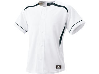 SSK/エスエスケイ BW0901-1090 ダミーオープンプレゲームシャツ 【XO】 (ホワイト×ブラック)