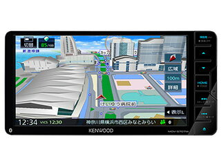 KENWOOD/ケンウッド MDV-S707W Sai-Soku/彩速ナビゲーション 200mm7V型ワイドVGAパネル DVD/USB/SD AVナビゲーション 200mmワイドモデル/地図更新1年間無料