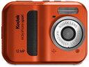 水中で撮れる、汚れに強いかんたんデジタルカメラKodak/コダック C123-RD(レッド) EASYSHARE...