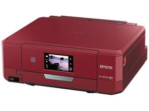 EPSON/エプソン 【あす楽対応商品】A4インクジェット複合機 colorio/カラリオ EP-807AR レッド